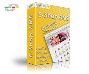 E-shop CMS